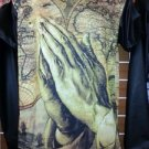 Sublimation Praying Hands image short sleeve T-SHIRT Prayer style T shirt M-2X