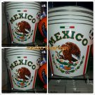 MEXICO SOCCER TIN TRASH MLS SOCCER FUTBOL TIN TRASH CAN CANISTER NEW