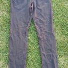 Women's dark gray cotton stretch pants Women's casual dress office pants L/9