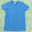 Gildan Softstyle Blue short sleeve V-Neck T shirt Men's soft cotton V neck S-3X