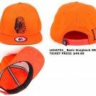 LAST KINGS ORANGE SNAP BACK BASEBALL CAP LAST KINGS BASIC BASEBALL CAP HAT