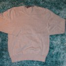 Gray long sleeve V neck sweater Mens Gray long sleeve cotton sweater  MED