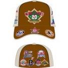 Negro League Baseball Cap Commemorative Brown Negro League Baseball Hat FITTED