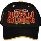 Buffalo Soldiers black baseball Cap US ARMY Buffalo Soldier Baseball cap