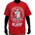 Kappa Alpha Psi Red short sleeve T-Shirt Vintage style Fraternity T shirt M-5X