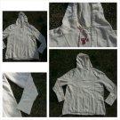Off White long sleeve Hoody Cream long sleeve pullover hoody hoodie M-2XL NWOT