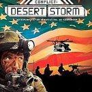 Conflict Desert Storm Xbox Platinum Hits Conflict: Desert Storm video game disc