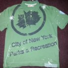 Green short sleeve polo shirt Mens short sleeve button up polo shirt 2XL NWT
