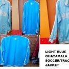 Guatemala Soccer Jacket Powder Blue Guatemala long sleeve track jacket L-3XL