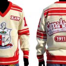 Kappa Alpha Psi Long Sleeve V neck Sweater Phi Nu Pi V neck Fraternity Sweater