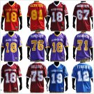 Tuskegee Golden Tigers Football Jersey Mens short sleeve football jersey S-4X