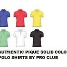 RED polo shirt by Pro Club short sleeve polo shirt S-10X PRO CLUB PIQUE POLO