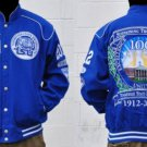 Tennessee State 100th Anniversary Race Jacket TSU Blue College Jacket  M-5X