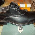 Winston Black dress shoe Black tie up casual dress shoe loafer Black Shoe 6.5US