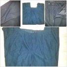 Mens Black Pin Stripe Dress Casual business pants Dress Slacks  40WX30.5L