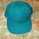 Unisex Aqua green snap back Baseball Hat Adjustable baseball hat cap New