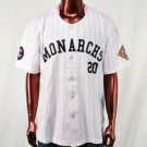 Womens pink short sleeve Negro league baseball jersey S-3X Kansas City Monarchs