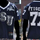 Womens Jackson State Female Football Jersey Bling Bling Lady's Football Jersey