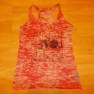 Forever 21 red white sleeveless tank top shirt Womens fashion tank top shirt M