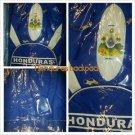 Honduras Blue White Padded Backpack Soccer School Gym bag FMF MLS Soccer Bag #2