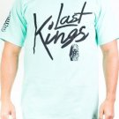 LAST KINGS MINT GREEN  SHORT SLEEVE T SHIRT LAST KINGS PHARAOH T SHIRT S-XL NWT
