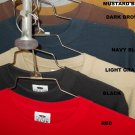DARK BROWN LONG SLEEVE THERMAL by PRO CLUB LONG SLEEVE THERMO SHIRT S-5X 6 PACK
