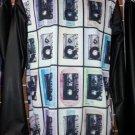 Sublimation Vintage Hip Hop Long sleeve T-SHIRT Cassette Tape image T shirt M-2X