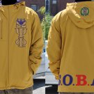 OMEGA PSI PHI GOLD COAT JACKET OMEGA PSI PHI GOLD Hoody Jacket 3-5XL NEW