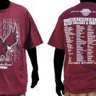 North Carolina State University Short sleeve T shirt HSBC College T-shirt M-4X