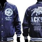 Jackson State University long sleeve jacket Letterman Coat JSU TIGERS M-5X #2
