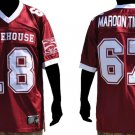 Morehouse short sleeve football jersey Morehouse Maroon Tigers football jersey