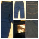 Blue Denim Jean Pants Mens Classic fit blue denim jean pants 42Wx30L NWT
