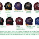 Alabama A&M Baseball Cap Hat HSBC Baseball Cap Hat Adjustable SWAC