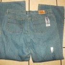 NYC Classic Blue denim jean pants Mens blue jean pants Bootleg Jeans 44WX32L NWT