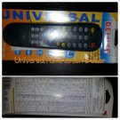 NEW Remote Control Mult-Brand Use Universal TV VCR DBS CABLE DVD Remote Control
