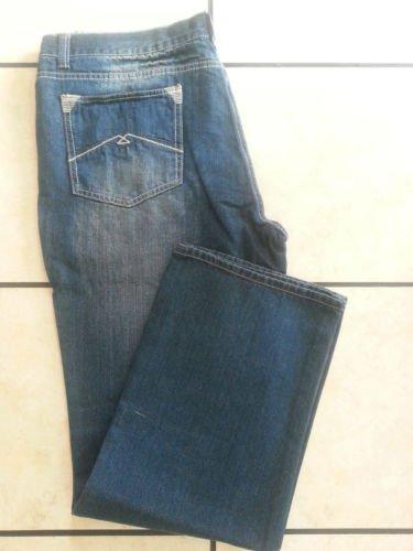 RELOAD BLUE DENIM JEAN PANTS BLUE DENIM JEANS PANTS 40Wx32L STRAIGHT FIT