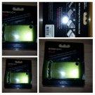 Lime Green Cell phone Sidekick Snap On Designer Shell Pixello Cell Phone Case