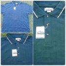 Mens Green polo shirt short sleeve cotton blend short sleeve polo shirt  4XL