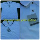 Mens White polo shirt short sleeve cotton blend short sleeve polo shirt  4XL
