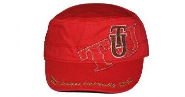 Tuskegee State University TSU Captains Cap Baseball Cadet Captains Cap Hat
