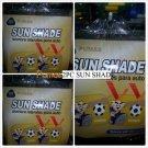 PUMAS Soccer Futbol  Mesh Window Sunshade Fits Most Cars & Trucks 2PC