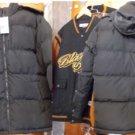 Black Bubble Winter Jacket PRO CLUB Black Long Sleeve Heavy Weight Jacket S-7X