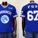 Womens Fayetteville State Football Jersey FSU BRONCOS Lady's Football Jersey S-2