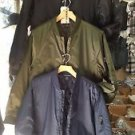 Flight Piolet Casual Airman long sleeve jacket coat Black Fashion Jacket M-3XL