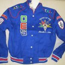 Order of the Eastern Star Race Jacket O.E.S BLUE Twill Race Jacket S-4X