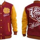 Bethune Cookman University Fleece College Baseball Jacket HBCU Varsity Coat S-4X