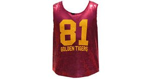 TUSKEGEE STATE UNIVERSITY SLEEVELESS SEQUENCE SHIRT WOMEN DRESS CASUAL TEE S-3X