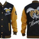 Alabama State University Hornets Fleece College Baseball Jacket HBCU M-5X