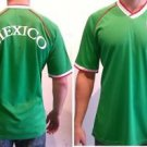 Mexico Soccer Jersey Mens green short sleeve Mexico Team Soccer Jersey S-2X #1