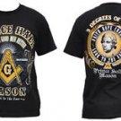 PRINCE HALL Masonic Freemason short sleeve T-shirt SRHINER MASON FRATERNITY TEE